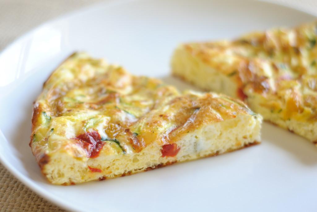 vajíčková pizza