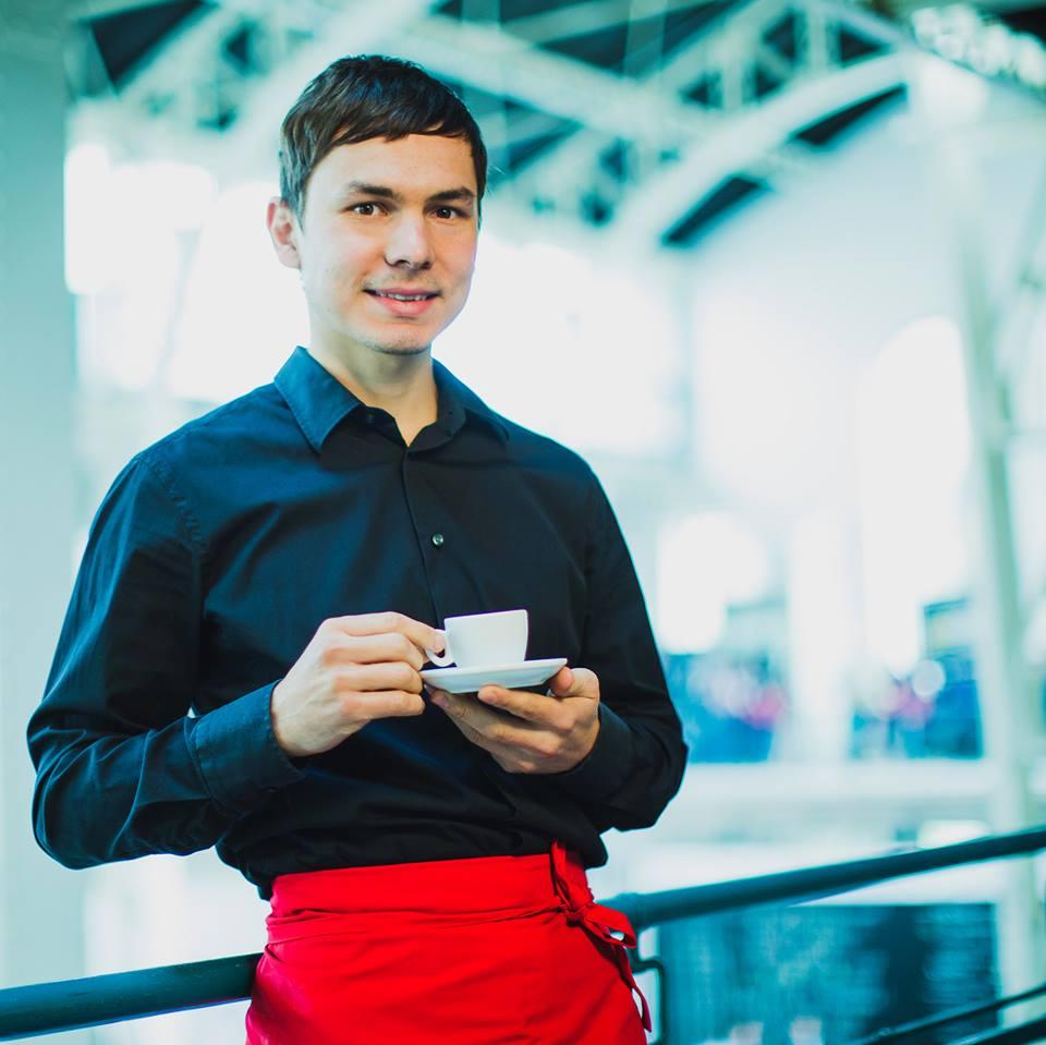 Dušan Plichta so zdravou kávou PowerCoffee