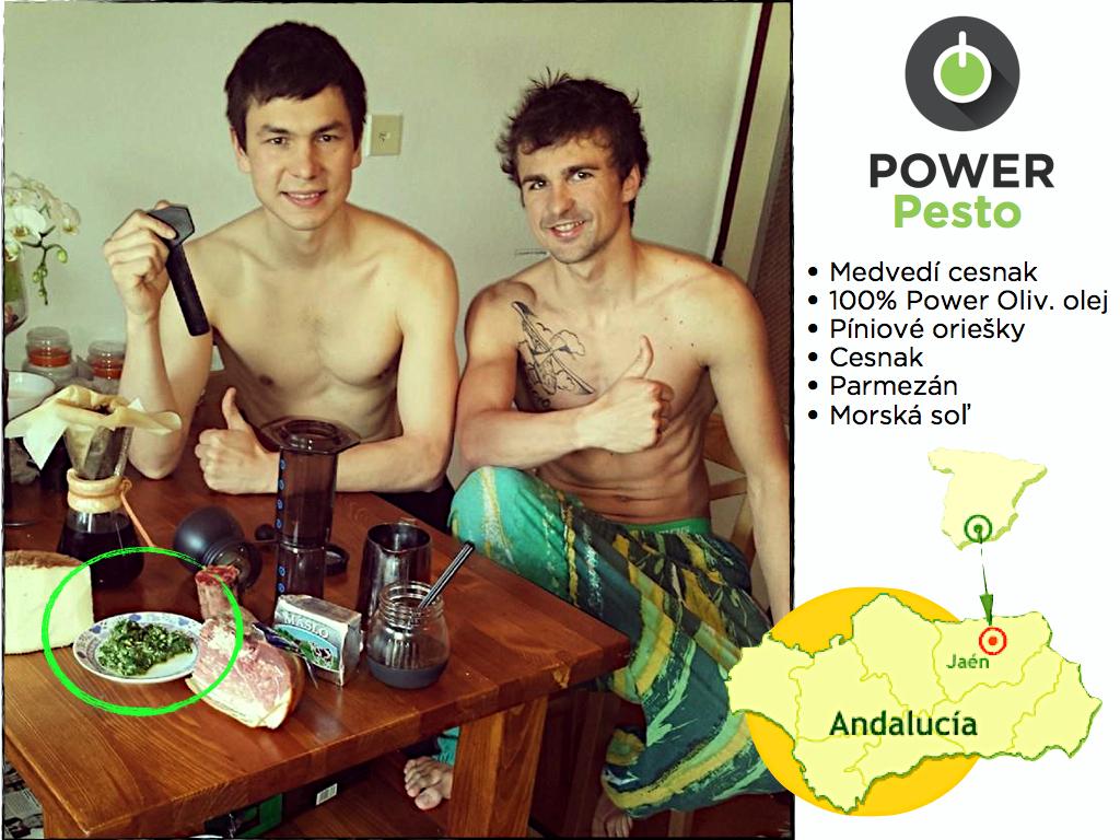 Power pesto zo 100% olivového oleja