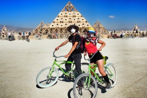 Burning man festival v USA