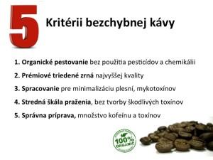 Kriteria zdravej kavy