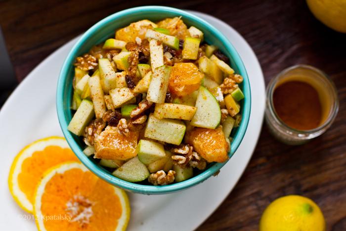 powerfood snackspravne zostaveny ovocny salat