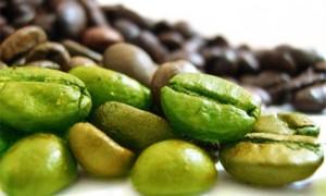 Zelené kávovníkové zrno