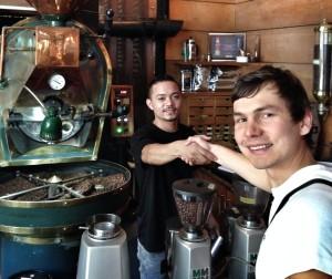 Niet nad čerstvé praženie priamo v kaviarni