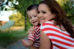 Vzorná, ale aj aktívna mama
