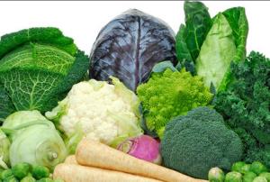 Hľuzová zelenina, najlepší druh zeleniny v boji proti nežiadúcim estrogénom