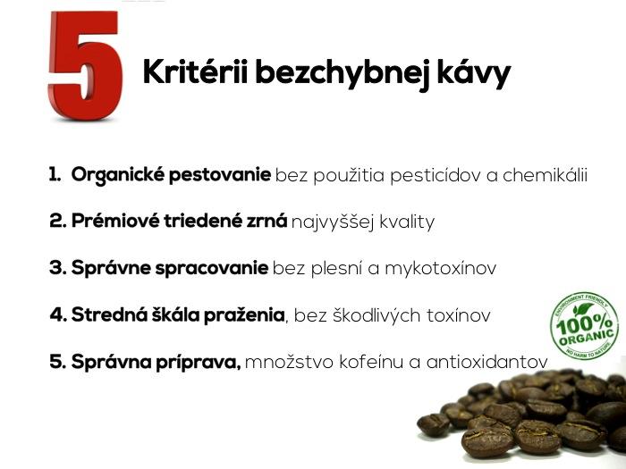 Kriteria zdravej kavy 1.1
