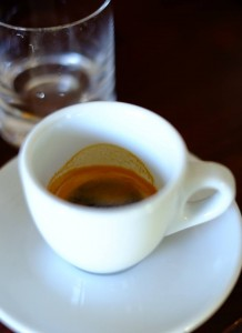 Nesprávne espresso