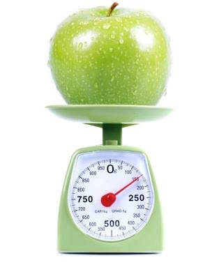 kalorie jablko