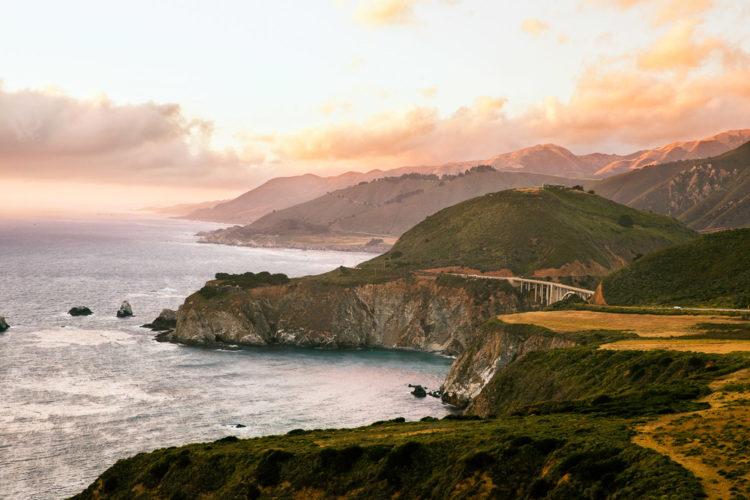 Big Sur a Pacific Highway