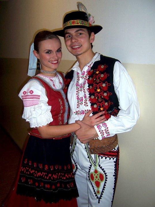 S manželkou v Šarišskom kroji