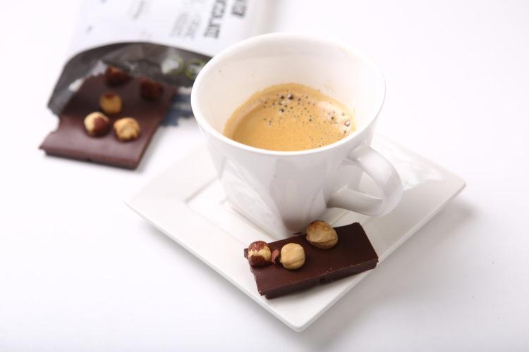 zdrava horka BIO cokolada s kavou