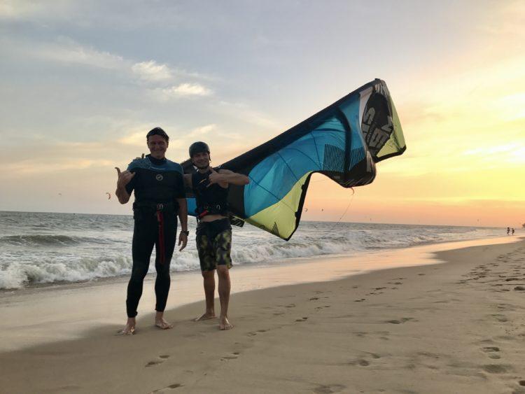 Kitesurfing Dusan Plichta Vietnam