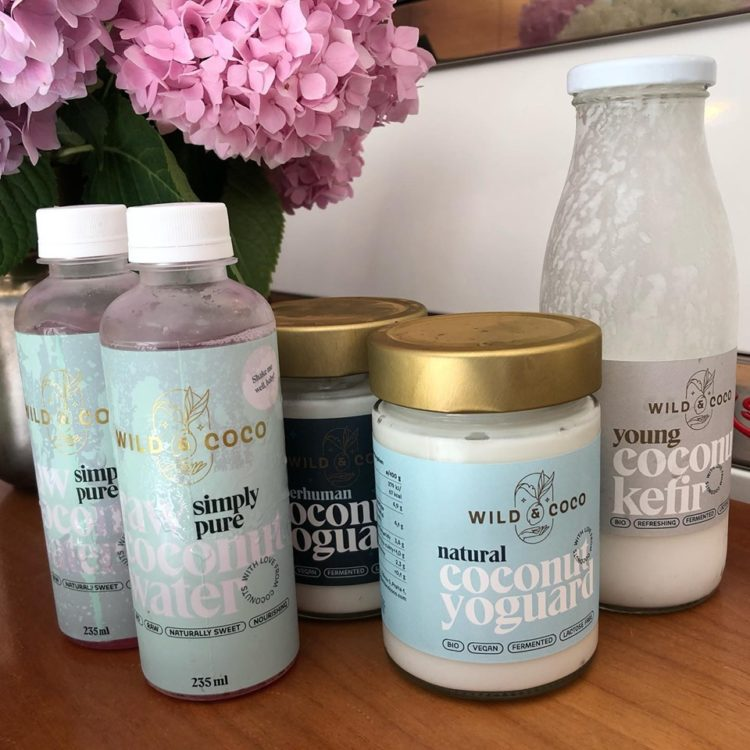 Kokosová voda, jogurt a kefir v BIO kvalite