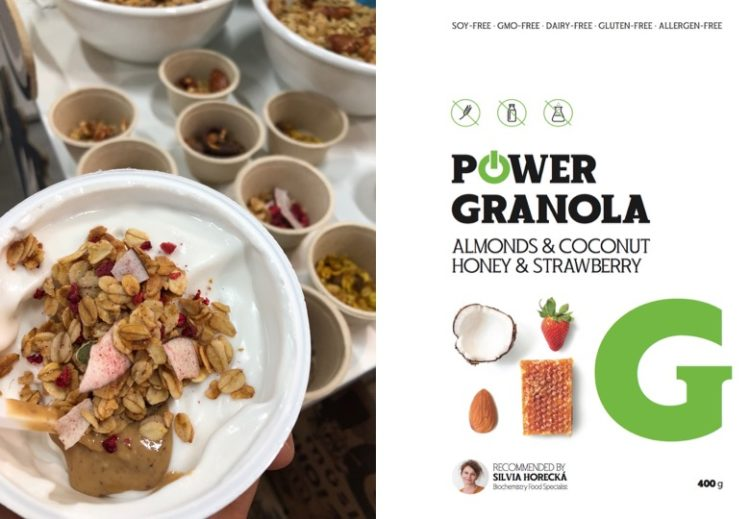 Dusan Plichta recept zdrava Granola