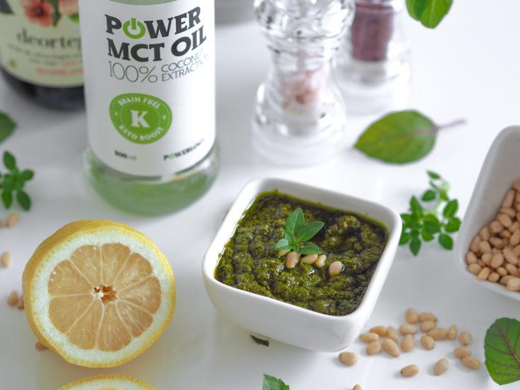 Pesto, olivovy olej, mct , Dusan Plichta