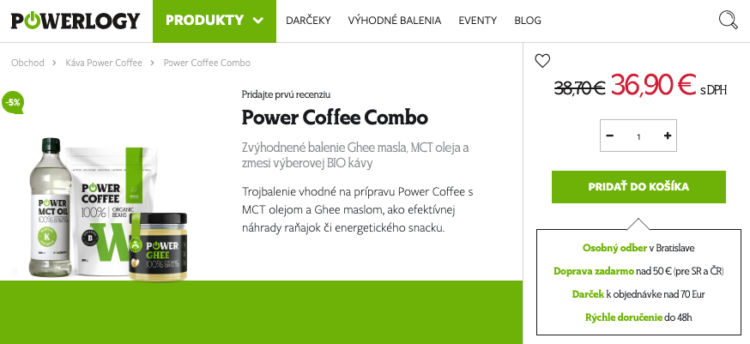 Power Coffee Combo
