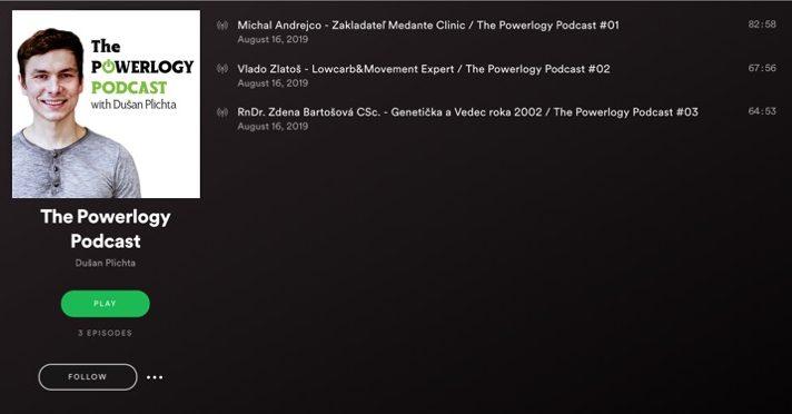 Spotify Podcast Dusan Plichta Powerlogy
