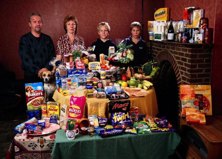 AKo sa to vivíja na Slovensku? Koľko spracovaných a výživovo práznych potravín nakupujeme ?