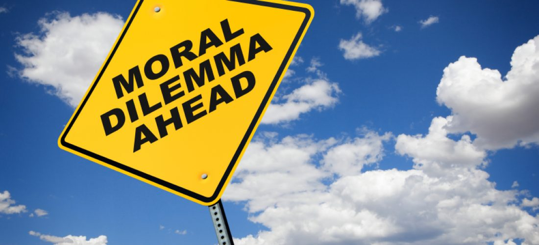 Moral Dilema Ahead