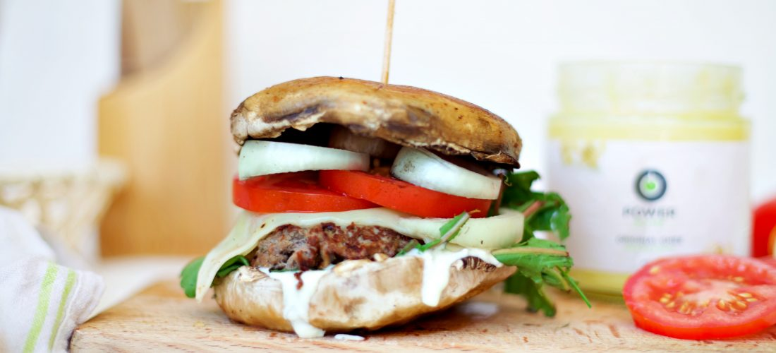 burger bez pečiva